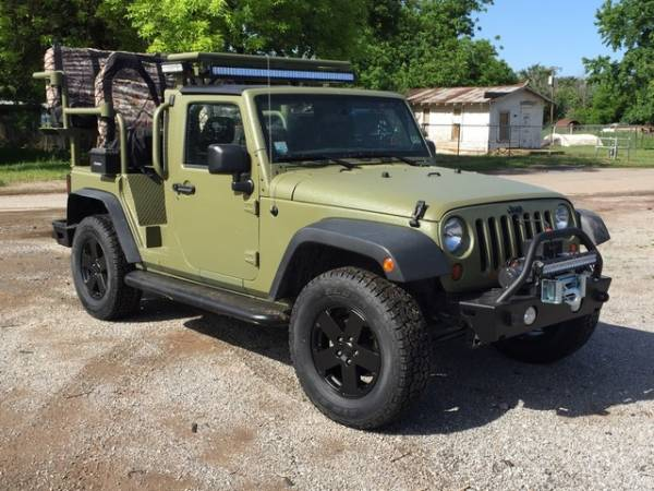 Fully Coated Jeep