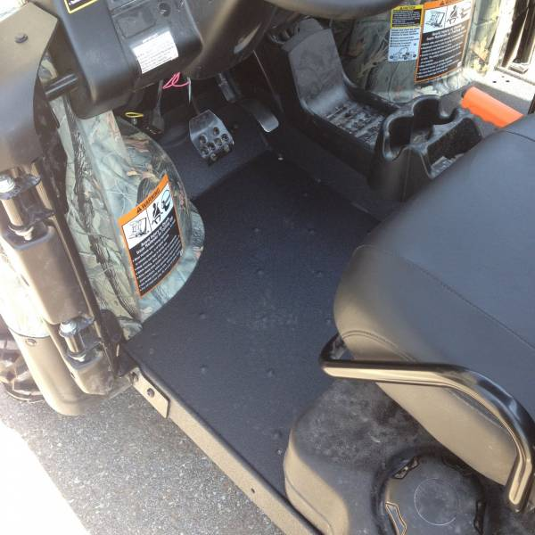 John Deere Gator with Line-Xd Floor Board