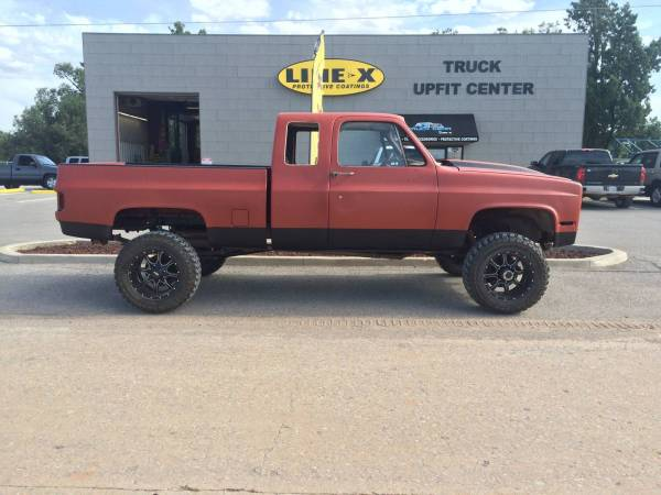 1988 Chevy Silverado Fully Coated With Line-X