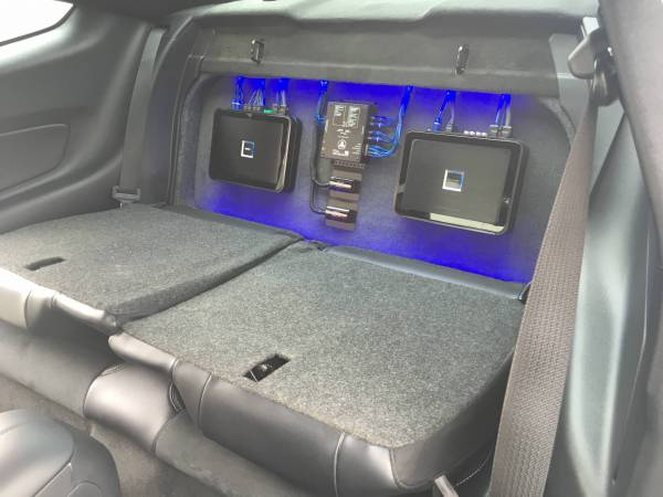 2016 Mustang GT350 With Custom Audio System