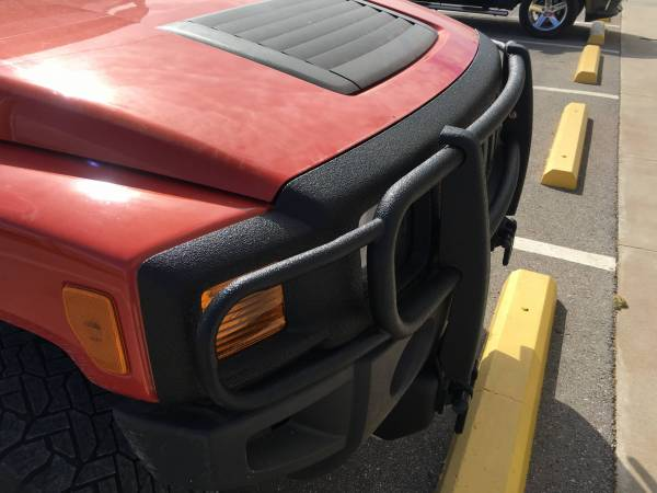 Hummer with Line-X Black Out Package