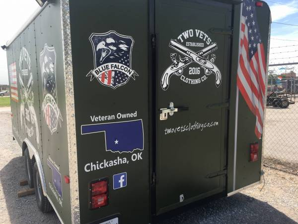 Local Store Tee-Shirt Trailer with Line-X Ultra
